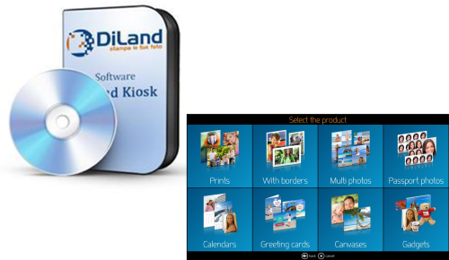 Extension Diland Kiosk & Studio  - Option Creative