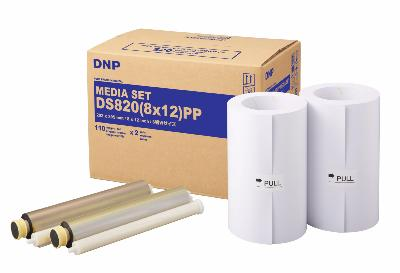 DNP DS820 - Papier + ruban 20x30 Pure premium pour 220 photos